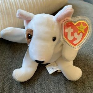 Other - BUTCH TY BEANIE BABY WITH TAG ERRORS